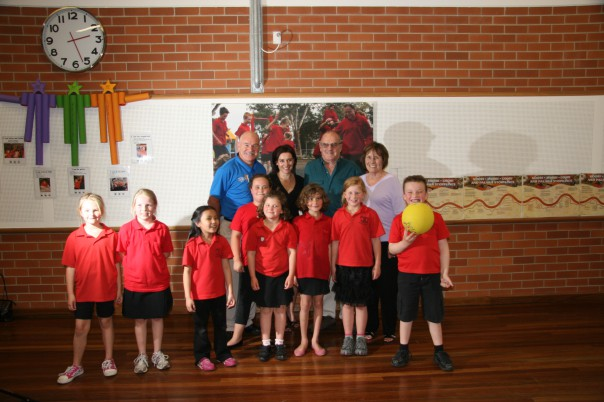 Kirk Foundation and Queanbeyan South Students